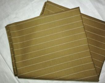 Light Brown Pin Stripe Scarf