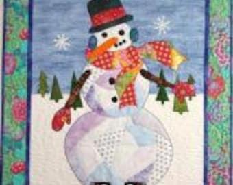 Snowball Applique Quilt kit