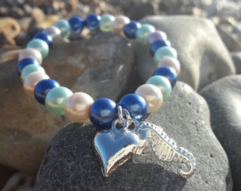 Mermaid's Treasure charm bracelets