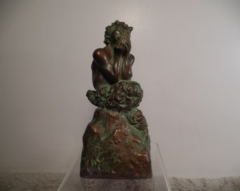 1930's Pan Sculpture Signed McClelland Barclay-Rare