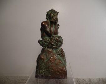 1930's Pan Sculptor Signed McClelland Barclay-Rare