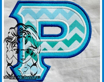 GrEEK LeTTERs SoRoRITY RHO Double Applique ScHooL College - INSTANT Download Machine Embroidery Design by Carrie