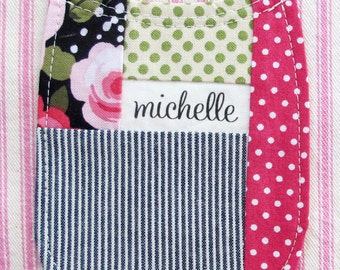 Curvy Patch Pockets PDF Document with Sewing Templates