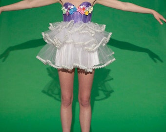 New York Couture One of a Kind *Custom Made* SWEET WONDERLAND PARTY Dress