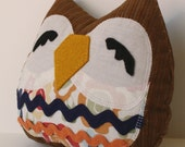 Petula the Owlet little owl pillow plushie