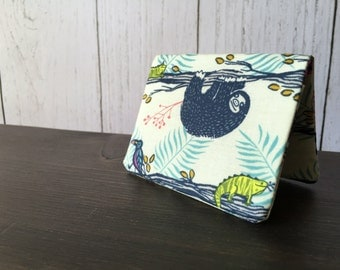 Card Wallet - Lazy Day Sloth