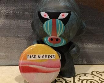 Rise & Shine Button