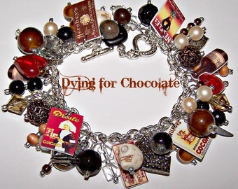 DYING for CHOCOLATE Mystery Charm Bracelet
