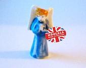 Vintage Miniature Ceramic Pocket Angel from Hoolala Vintage