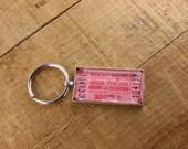 Rocky Point Park Ticket Keychain - Quart of Chowder