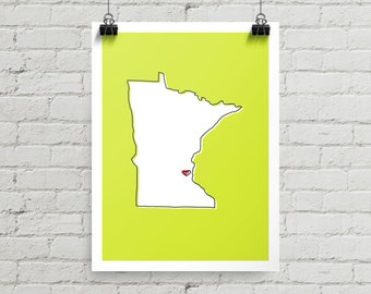 Minneapolis Love - Giclee Print