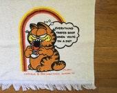 Vintage Garfield Hand Towel
