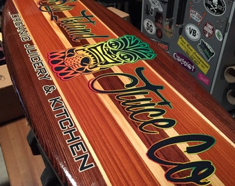 Decorative surfboard | Etsy