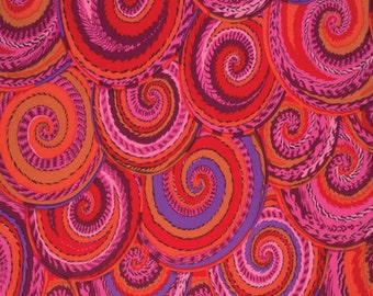 CURLY BASKETS in RED PWPJ066  Phillip Jacobs fabric Westminster Fabric 1/2 yard Cotton, Quilt Craft and Apparrell fabric