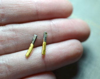 Small Gold & Steel Sticks