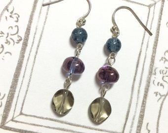 3 Colors Pretty Dangling Long Earrings, Colorful earrings, christmas gift, on sale