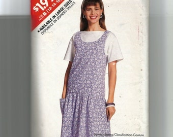 Butterick Misses' Jumper and Top Pattern 6168