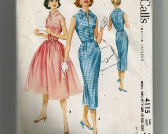 McCall's  Misses'  Dress Pattern 4115