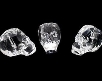 Swarovski Article 5750 13mm Crystal Skull