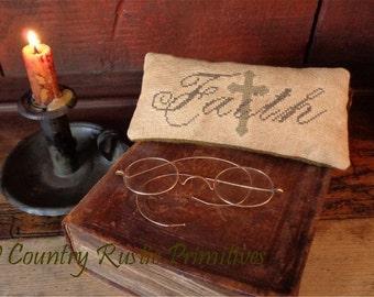 Primitive Faith Pillow Tuck E Pattern PDF New Pattern