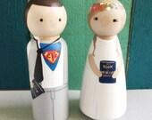 Custom Baptism Peg Doll