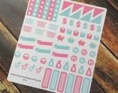 May Sticker Bundle for Erin Condren Planner - 193 stickers!