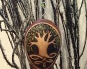 Celtic Tree Ornament egg gourd