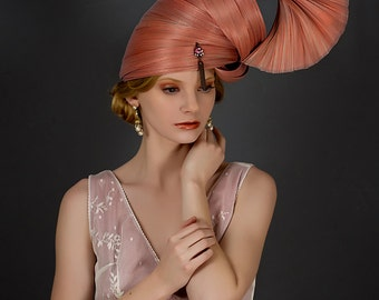 Haute Couture Headpiece Jinsin Headpiece Kentucky Derby Hat