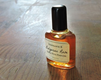 Bulgarian Rose Natural Perfume Oil - Great Gift for Her