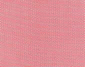 Little Ruby - Little Bliss Dot in Red: sku 55134-11 cotton quilting fabric by Bonnie and Camille for Moda Fabrics - 1 yard