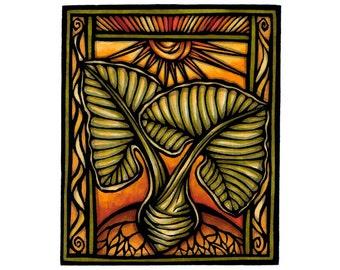Kalo Plant print
