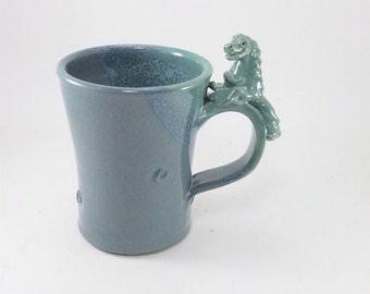 dragon, monster, Godzilla mug