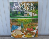Camper Cookery Cookbook - Glamping - Camping - Trailer - Royal Hill Vintage