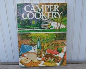 Camper Cookery Cookbook - Glamping - Camping - Trailer - Royal Hill Vintage