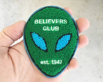 Believer's Club : School Club Jacket Inspired Chenille Patch