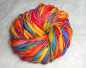 Primary Rainbow Solids and Swirls Thick n Thin Merin 65 yards 4 oz  Super Bulky