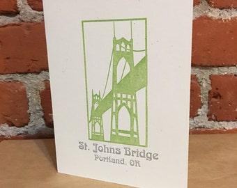 St. John's Bridge - Portland, OR