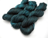Moonlight Kisses Hand Dyed Yarn, Dyed to Order