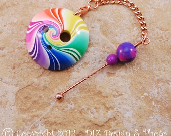 Rainbow Swirl Spinner's DIZ and Threader Set - No C6 - CONCAVE