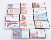 Huge Collection of Vintage Audio Casette - Picture Books on Tape - Teacher Aid - The Mitten - If You Give A Mouse A Cookie, Etc