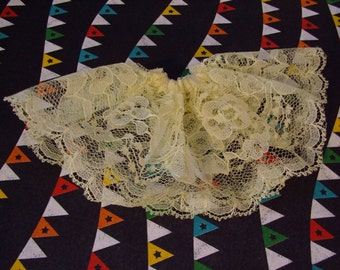 Blythe Skirt  - Pastel Yellow Lace