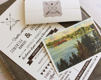 seal and send  etsy, Wedding invitations