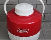 VINTAGE Coleman brand drink container
