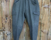 VINTAGE military surplus MENS wool pants