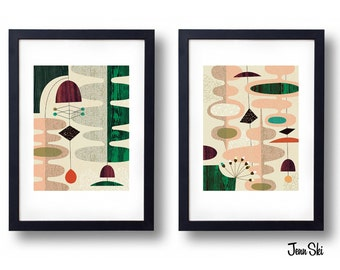 Giclée Print Set - Sea Lettuce Set