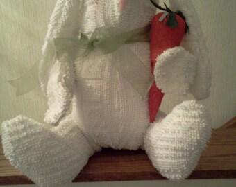 Cherice - Chenille Bunny Rabbit Handmade