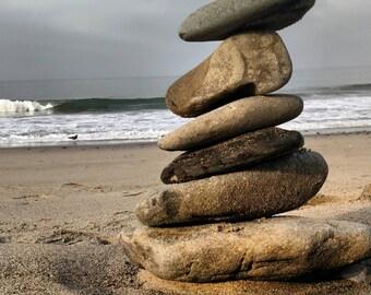 Zen rock stack