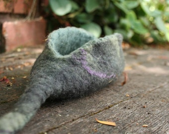 Hand Felted Pod