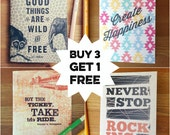 Buy 3 Get 1 FREE Pocket-Sized Notebooks