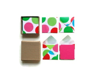 Stationery Set, Dots, Blank Note Cards, Gift Cards, Greeting Cards, Cute Stationery, Gifts Under 10, Thank You Cards, Gift Tags, Paper Goods